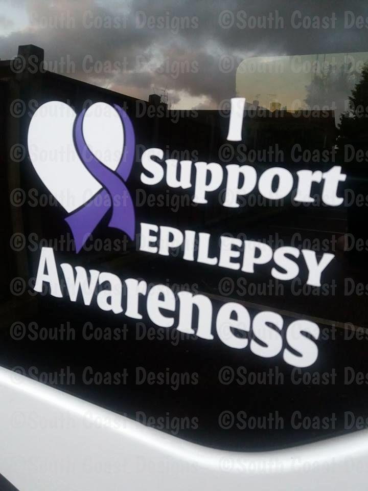 i support epilepsy awareness