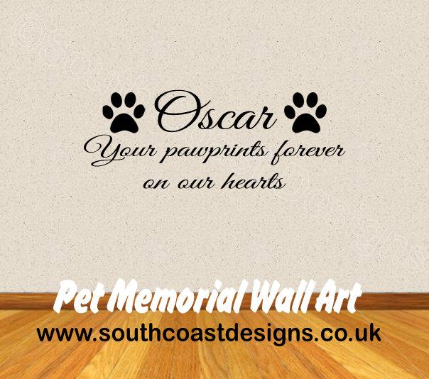 Pet Memorial Wall Art Dog