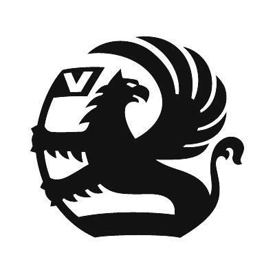 2x Vauxhall Logo Sticker Choice Of Colour