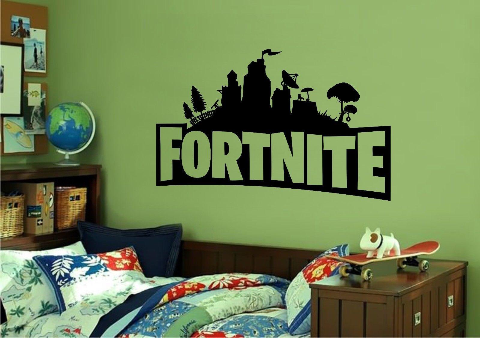 Fortnite Logo Wall Sticker Decal