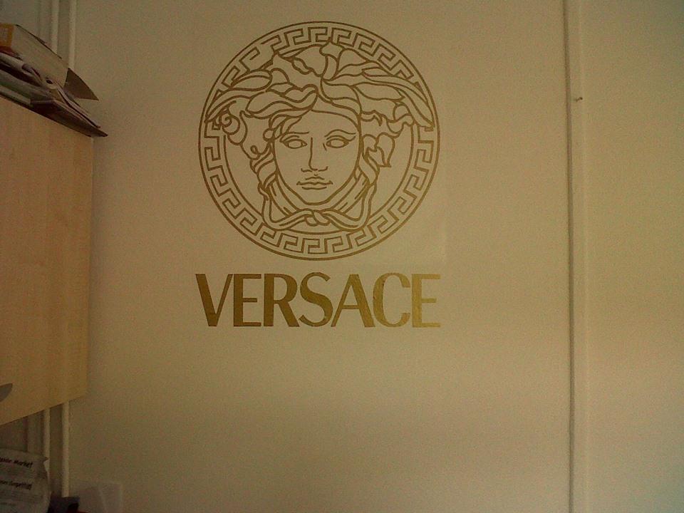 versace wall sticker